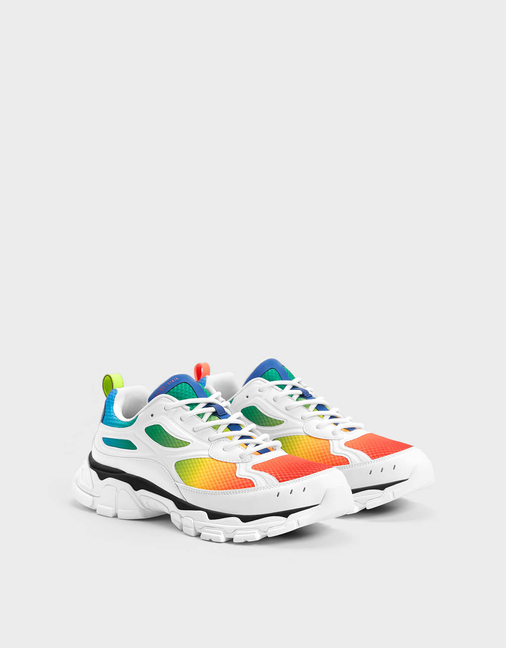 Men's multicoloured trainers