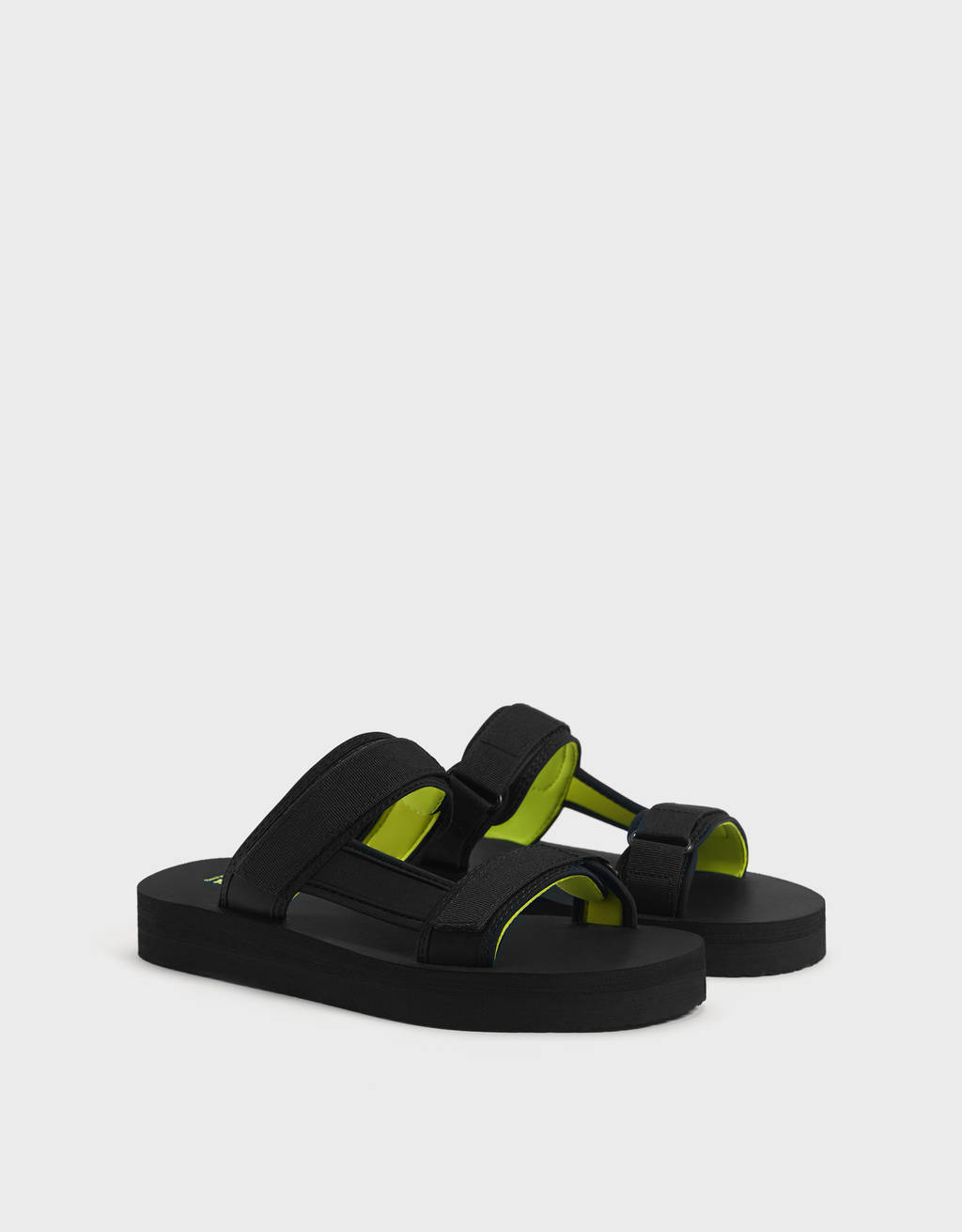 Men's technical strappy sandals