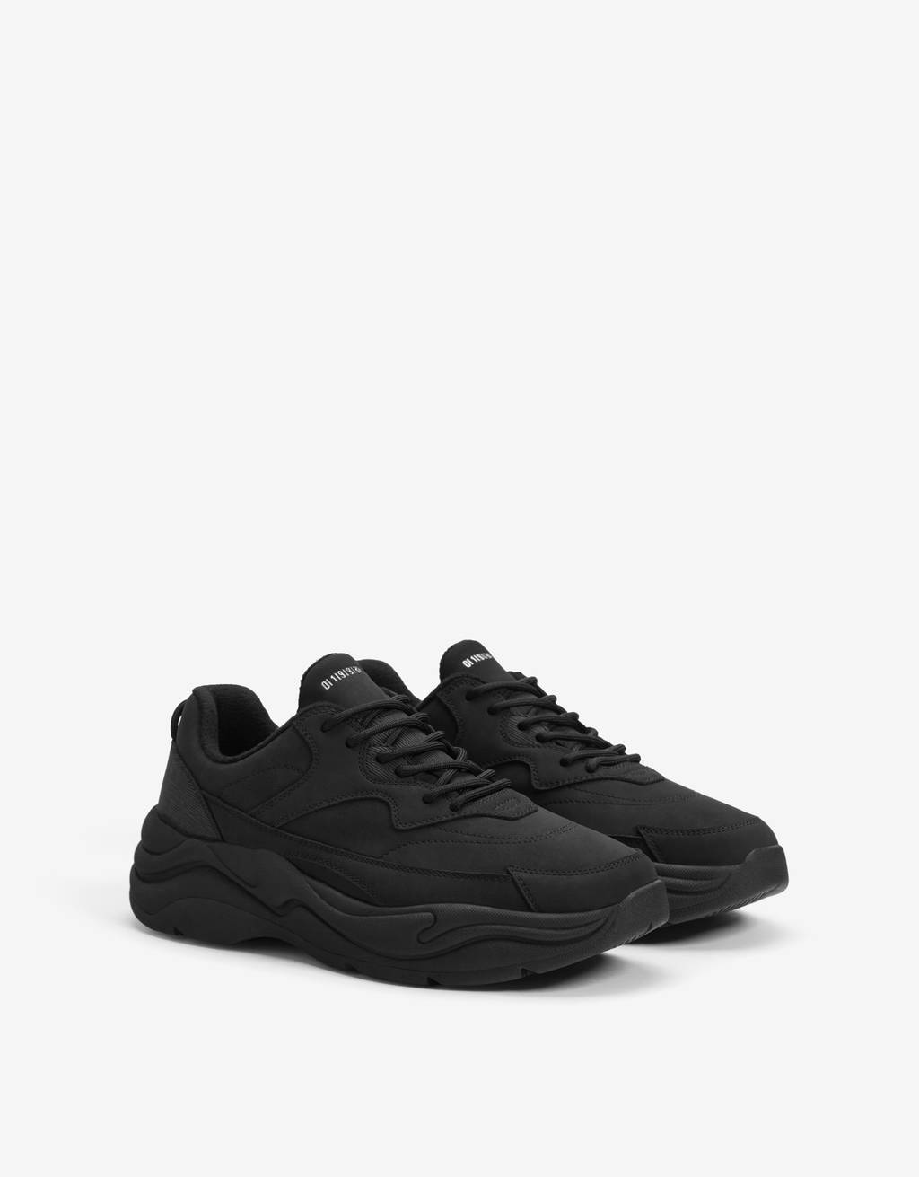 Men's trainers with warm lining