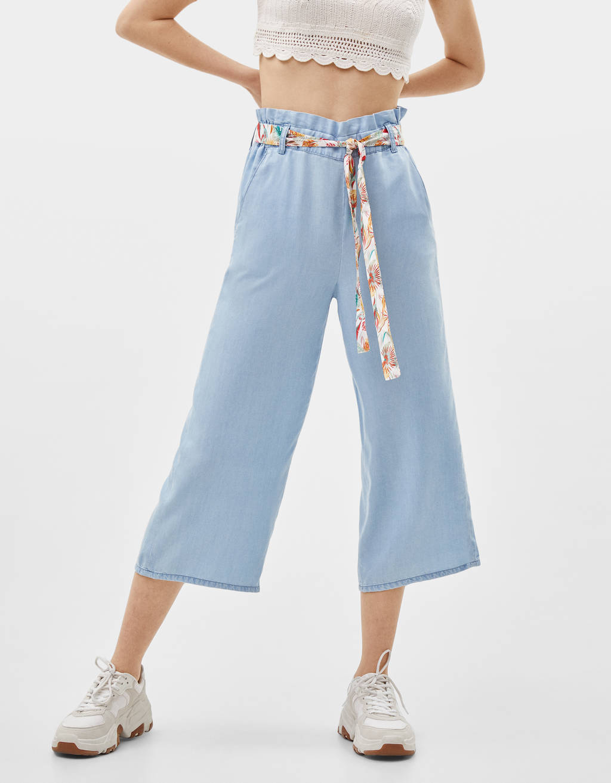 Pantalón Culotte de TENCEL®