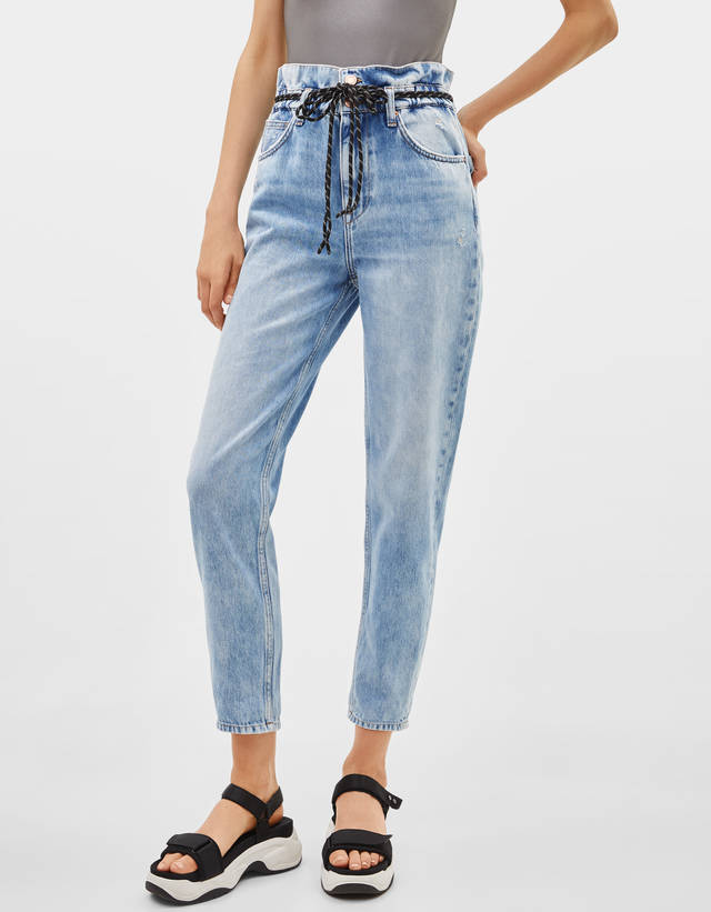 3542096fa7 Mom - Jeans - COLLECTION - WOMEN - Bershka United States