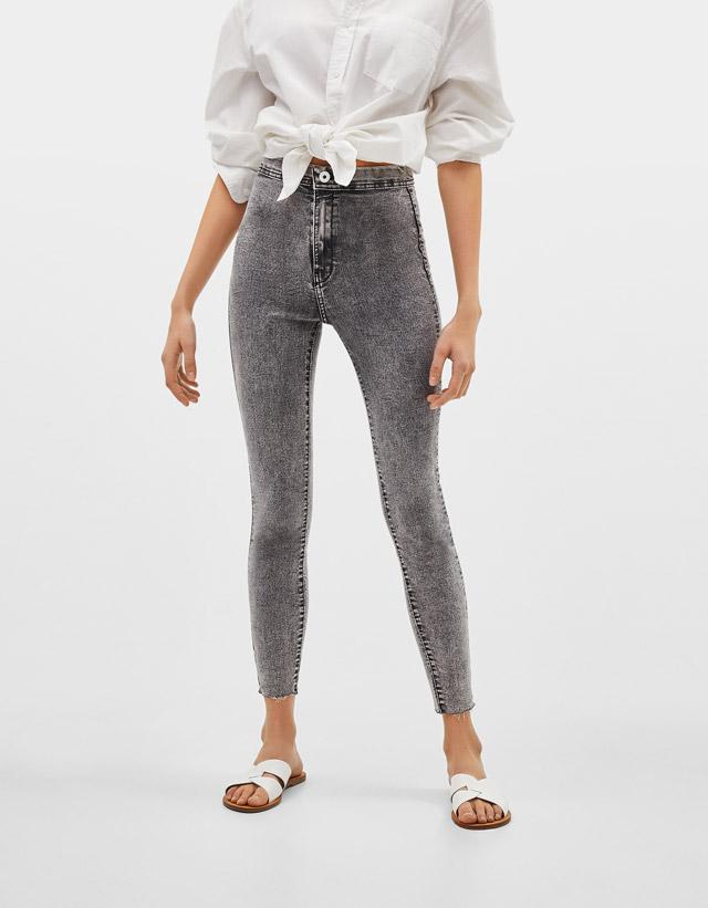 088bd081a415c Jeans taille haute pour femme - Automne-Hiver 2018   Bershka