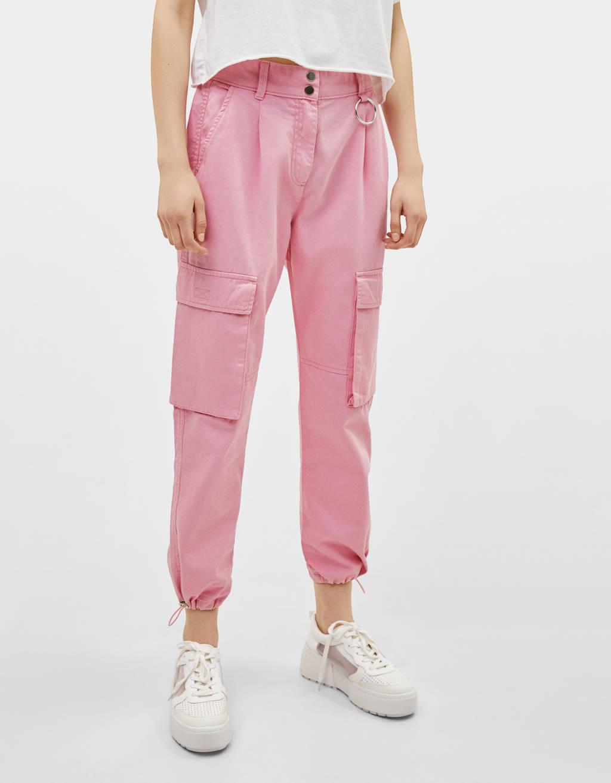Pantalon cargo carotte