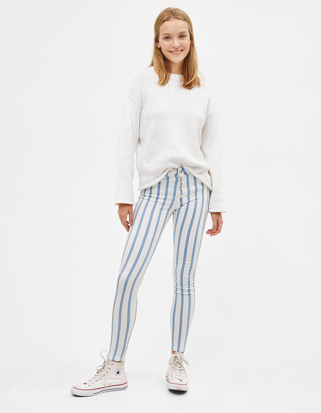 Push Up Low Rise trousers