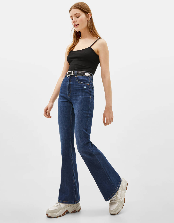 4fb25d19b Jeans - COLECCIÓN - MUJER - Bershka Mexico