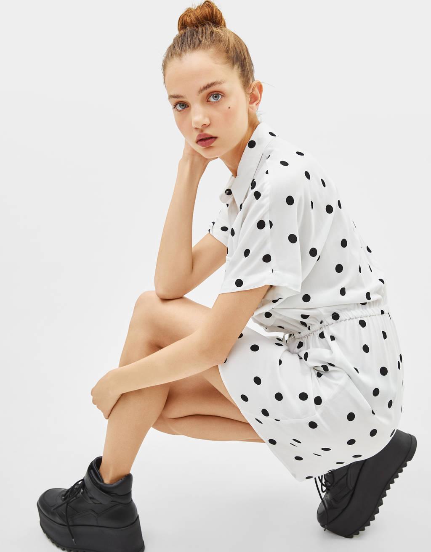 Φόρεμα πουκαμίσα utility