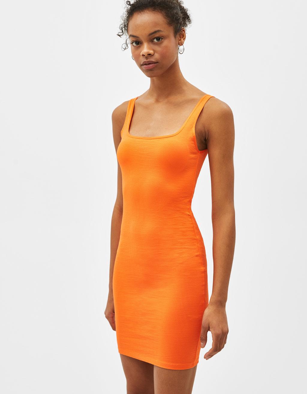 Φόρεμα κοντό με τιράντες