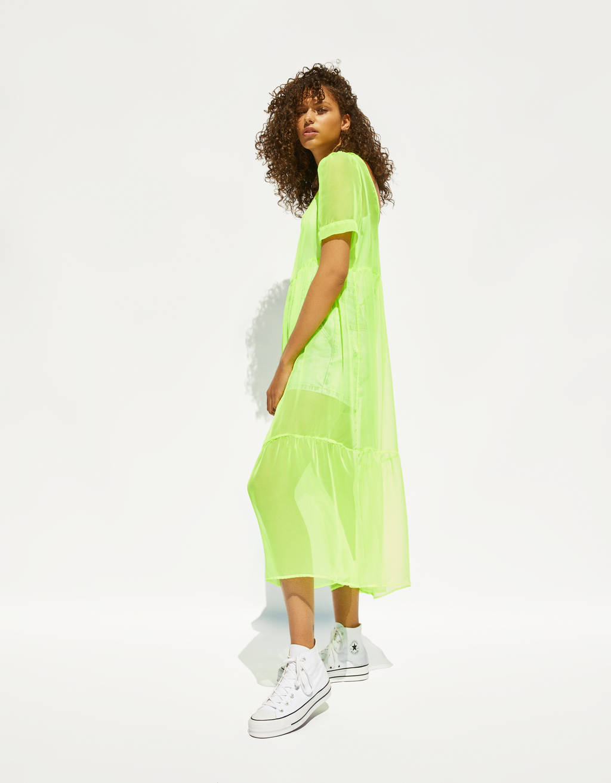 Vestito lungo fosforescente