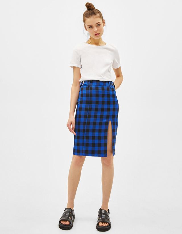 80a4d19fbb8d Midi - Skirts - COLLECTION - WOMEN - Bershka Hong Kong SAR / 香港 ...