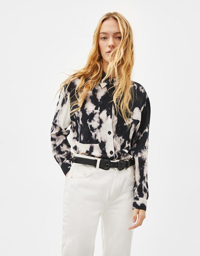 1941ed427c1e9 Chemises pour femme - Automne-Hiver 2018   Bershka