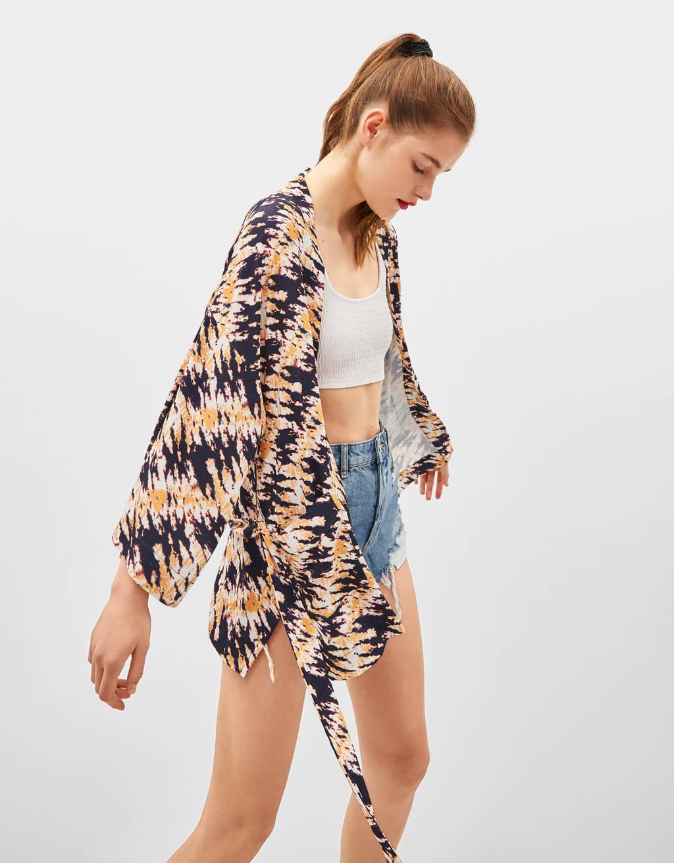 Tie dye -kimono