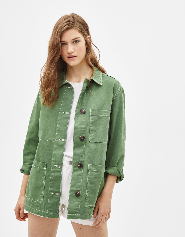 Базовая куртка-рубашка