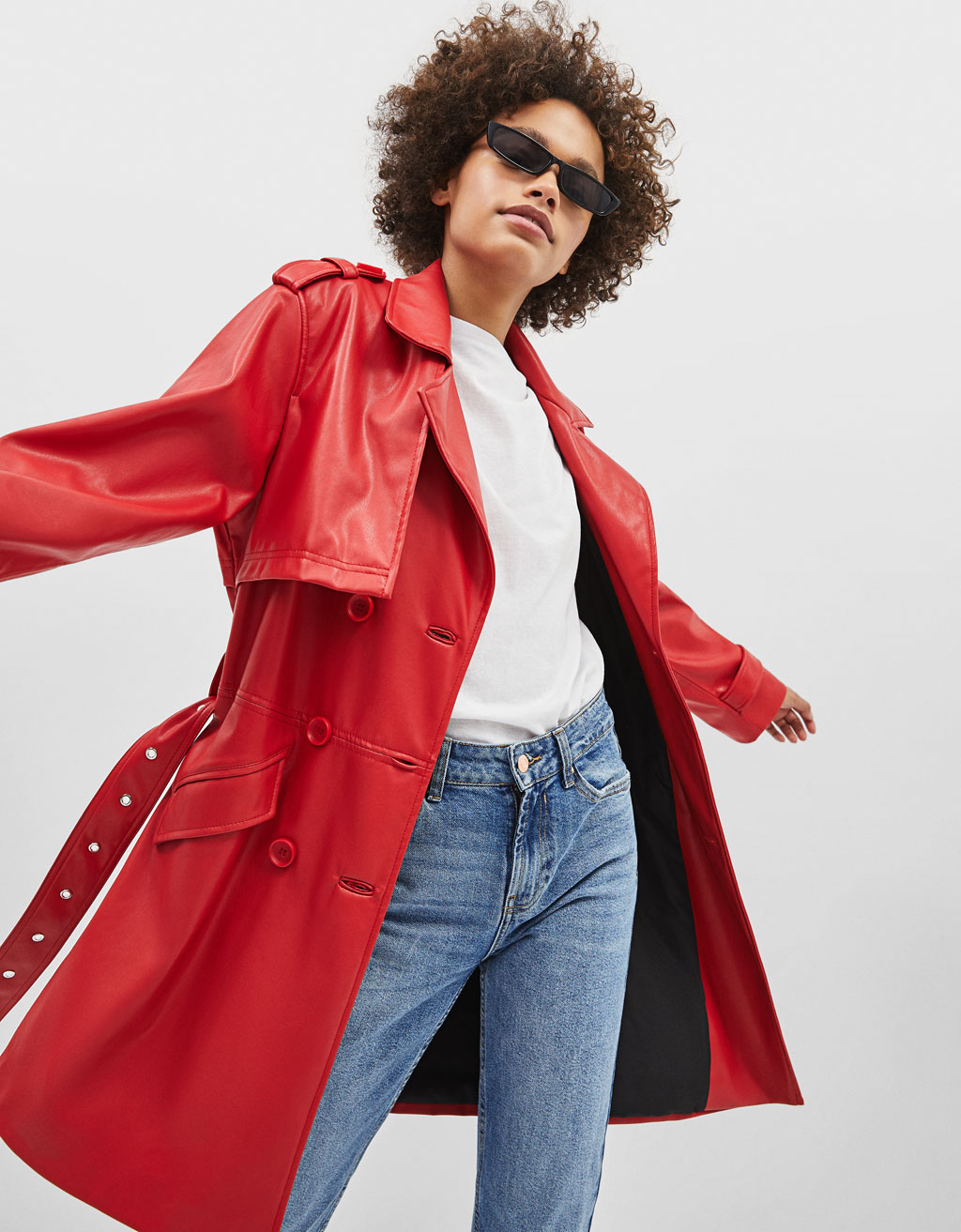 878ec69ef8c Coats - COLLECTION - WOMEN - Bershka United States