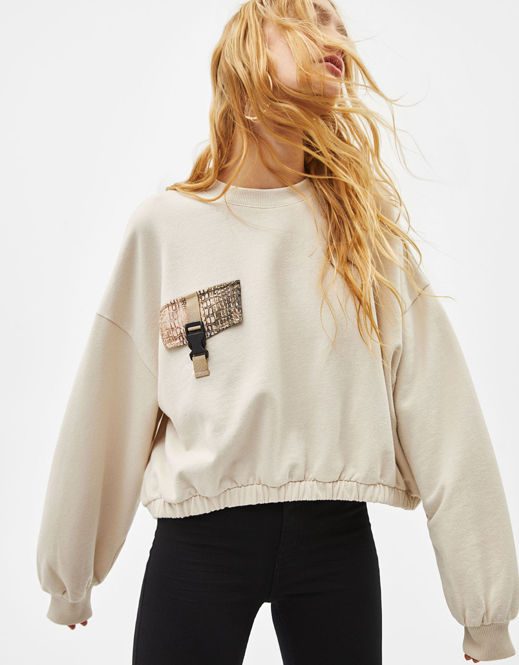 Sweatshirt with detail