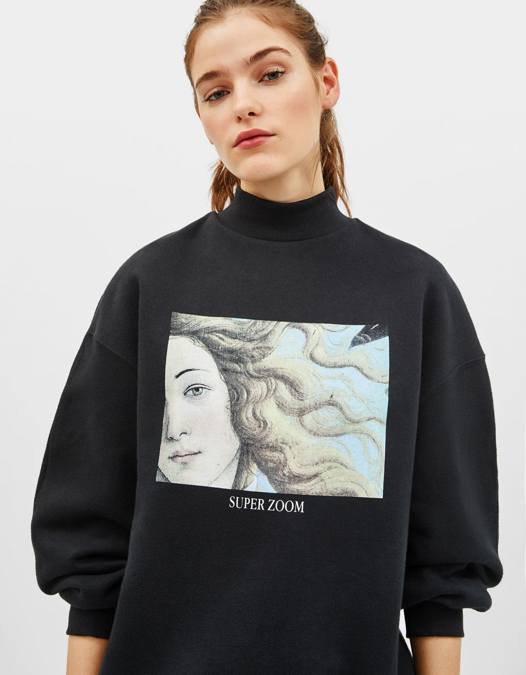 Sweatshirt with Venus print