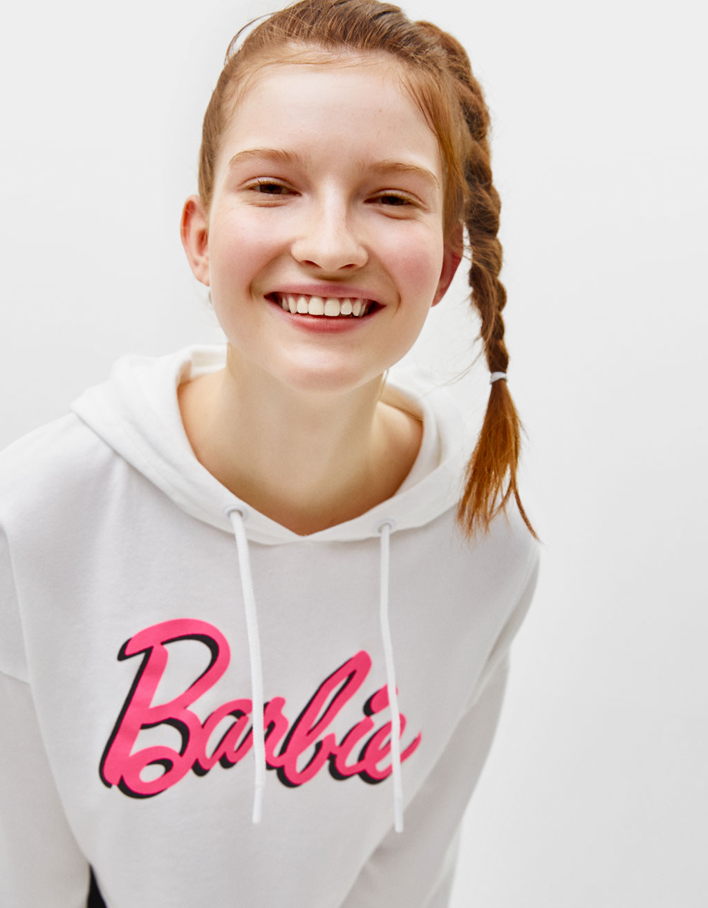 Sweat Barbie à capuche