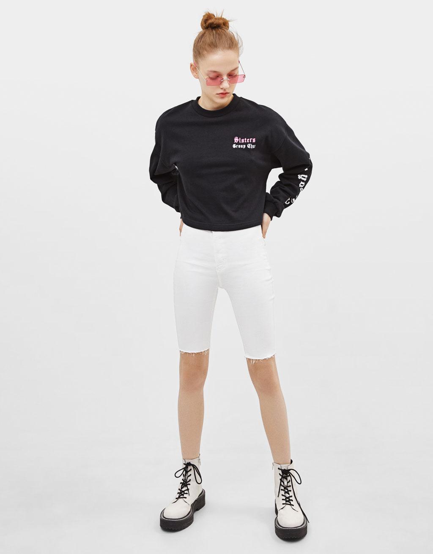 Bluză sport cu imprimeu