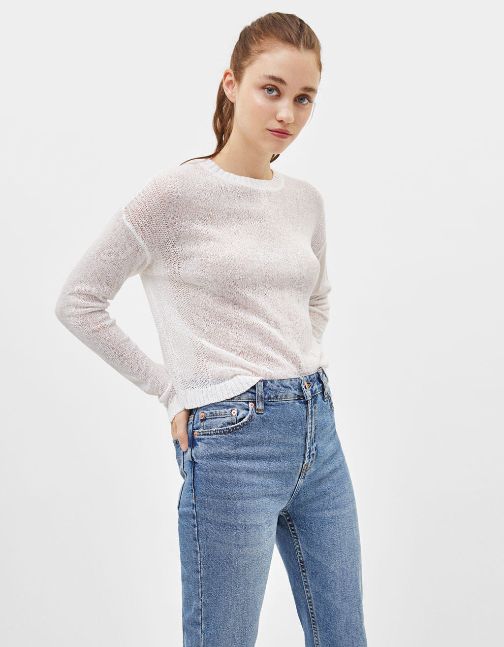 Basic long sleeve sweater