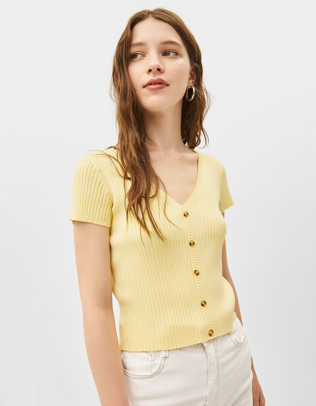 0feb7fc2dab637 Women's Knitwear - Summer Sale 2019 | Bershka