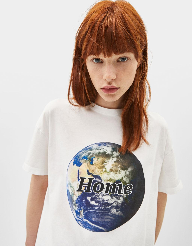 Bershka + WWF T-shirt