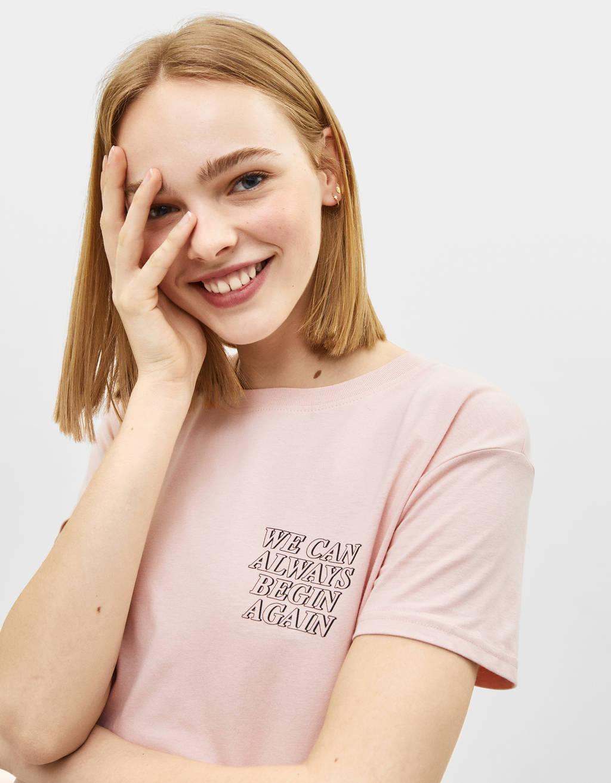 Блуза с щампа