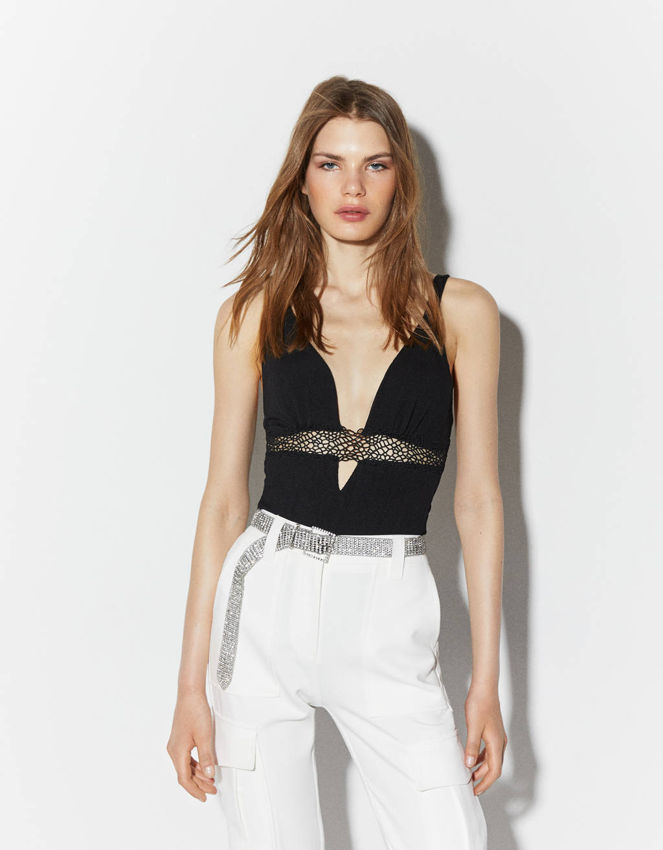 Vest bodysuit