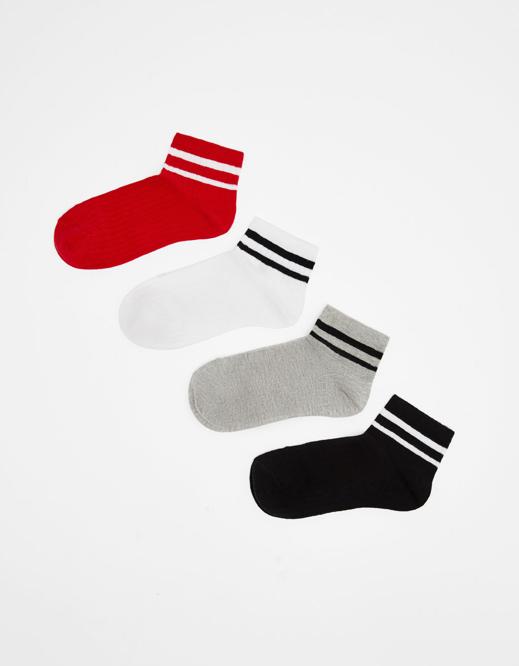 Set of sports socks