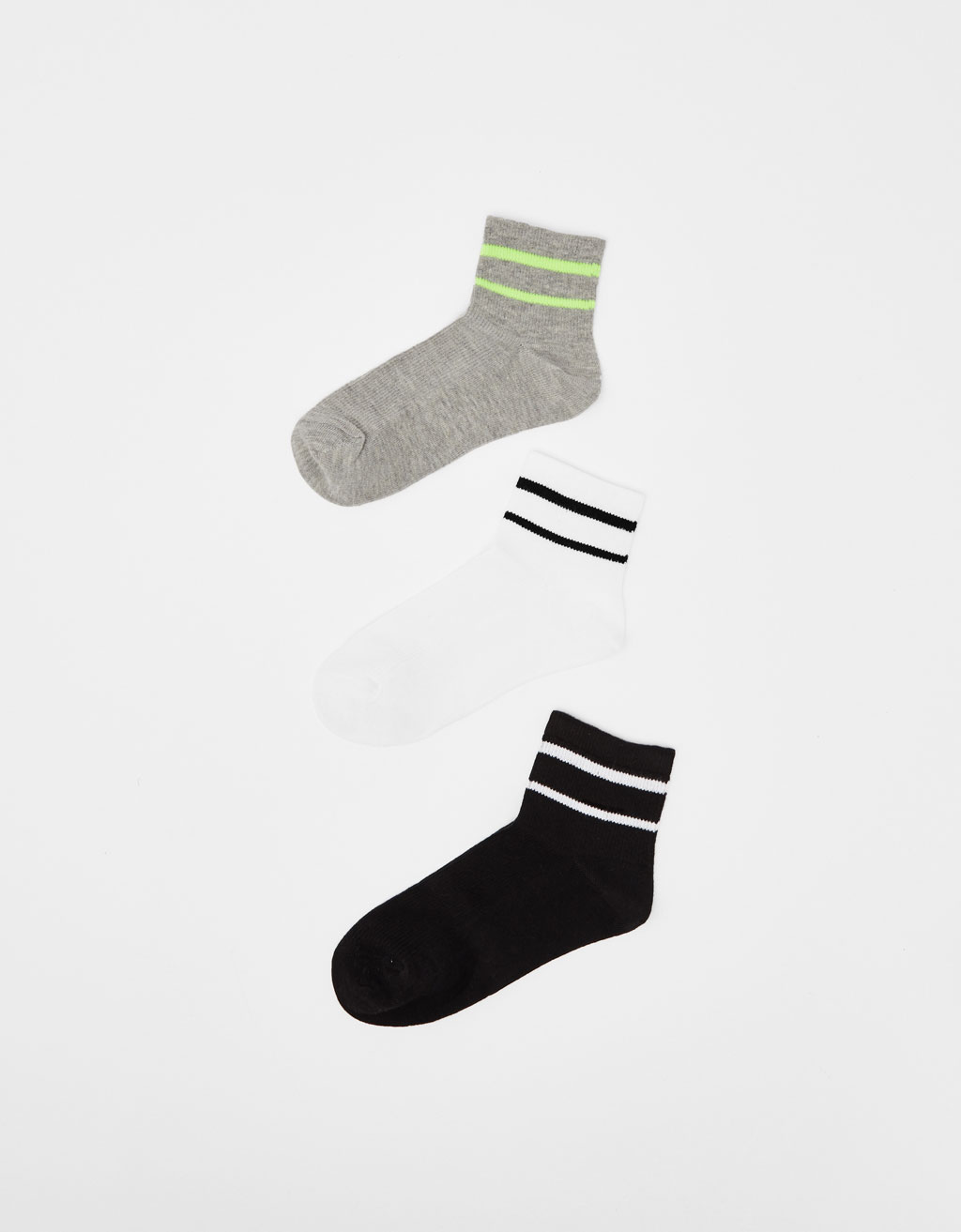 Pack of sports socks
