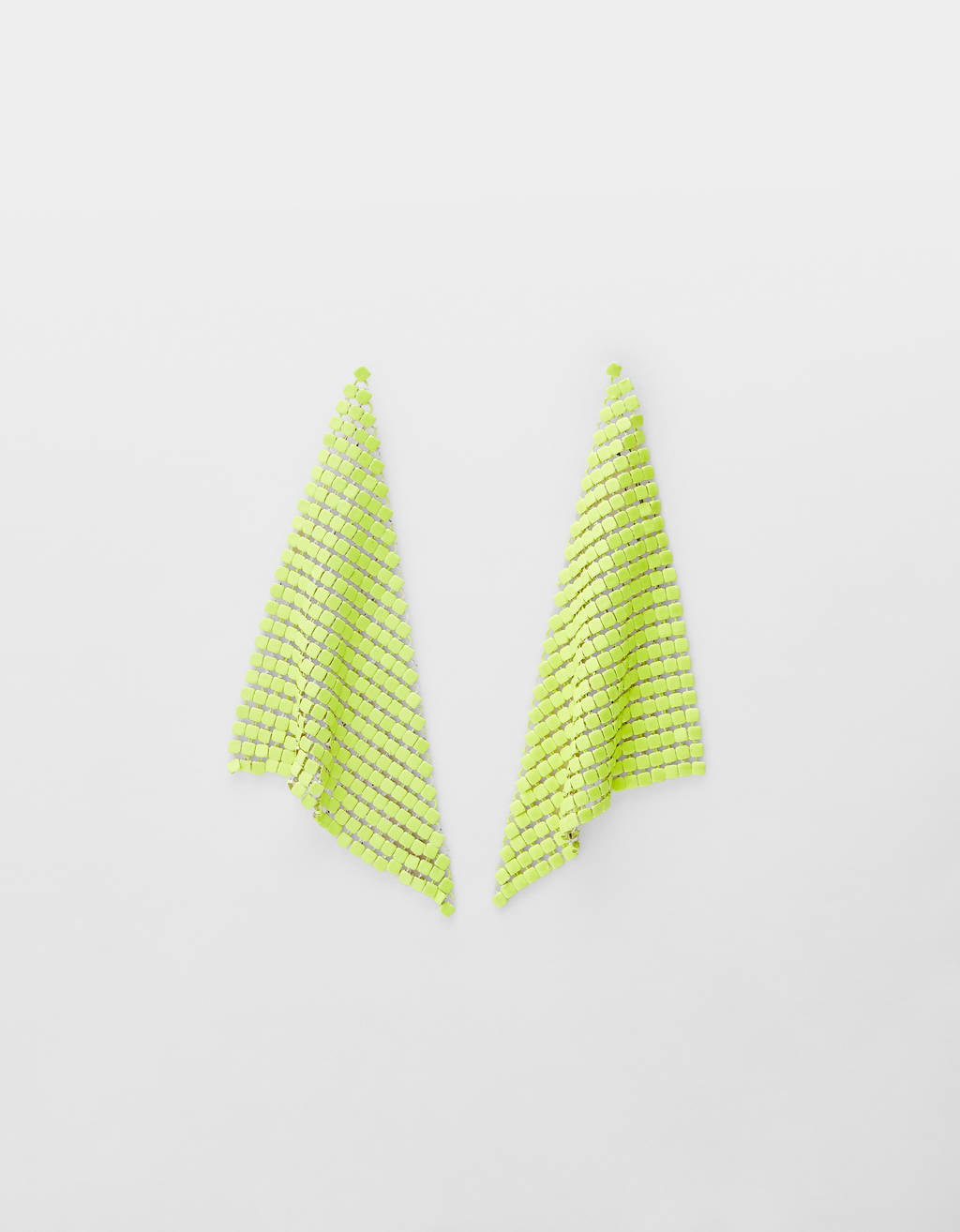 Maxi mesh earrings