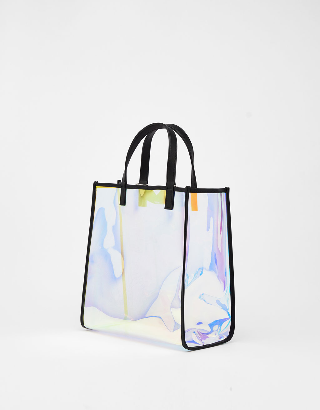 Iridescent tote bag