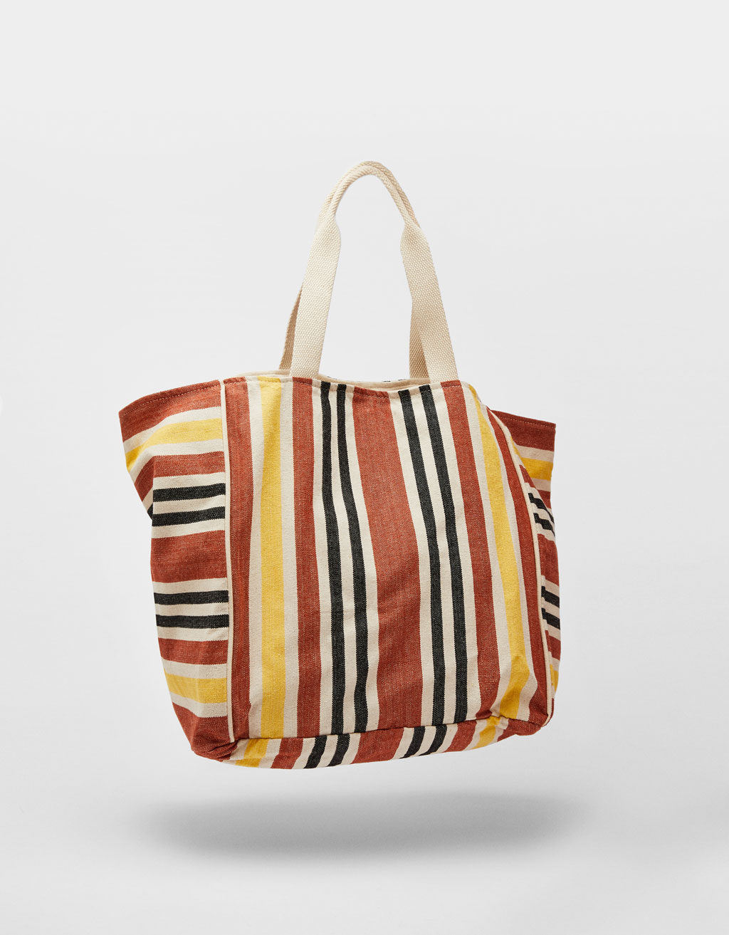 Bolso Shopper de rayas