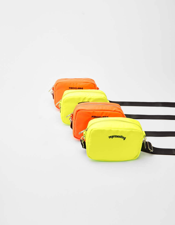 Neon nylon bag