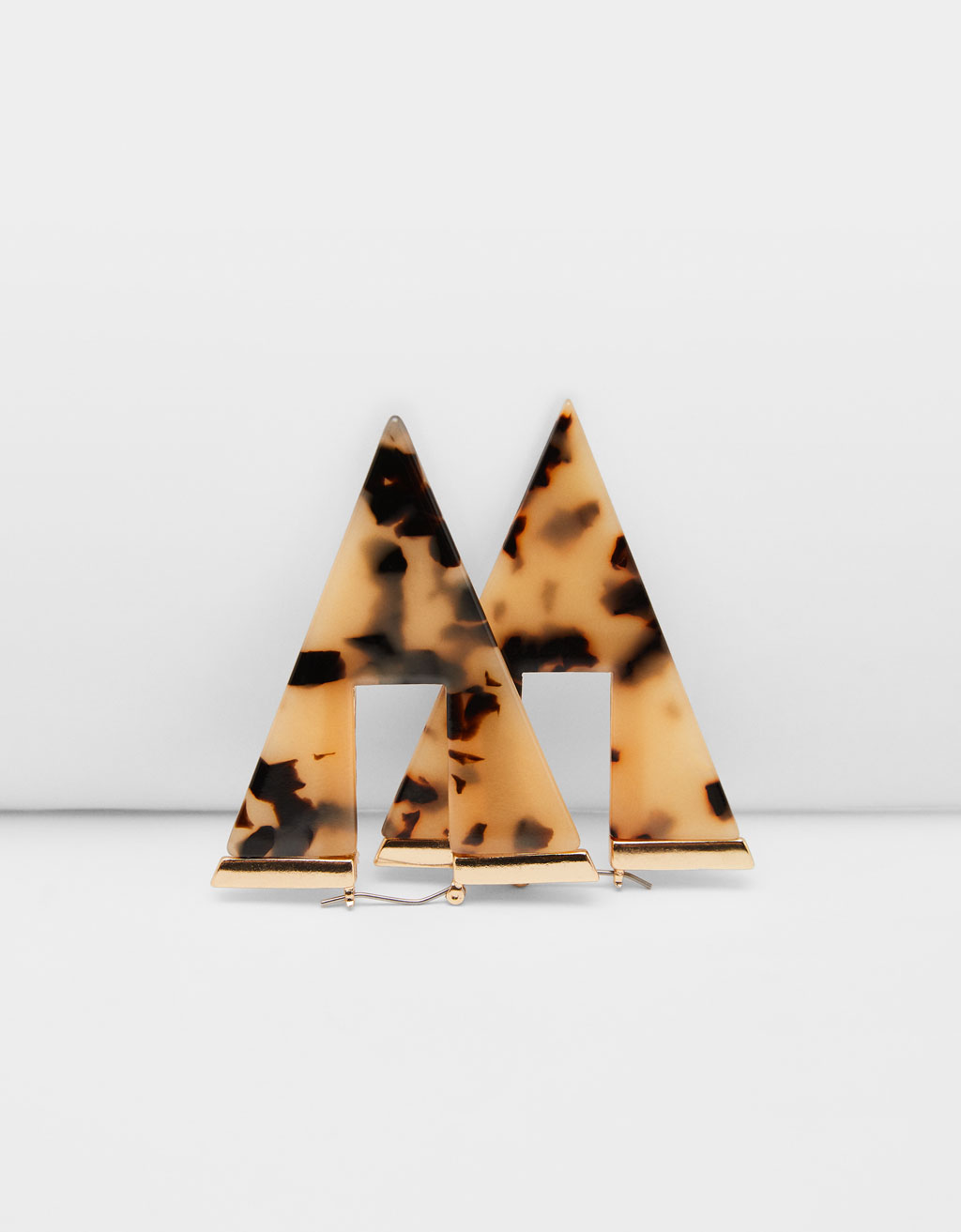 Triangle maxi earrings