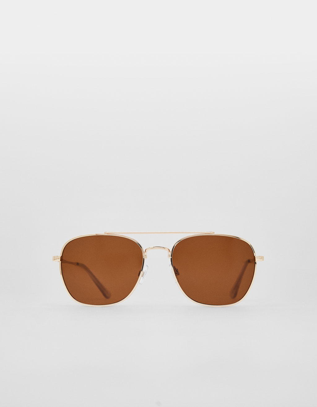 Sunglasses with smoky lenses