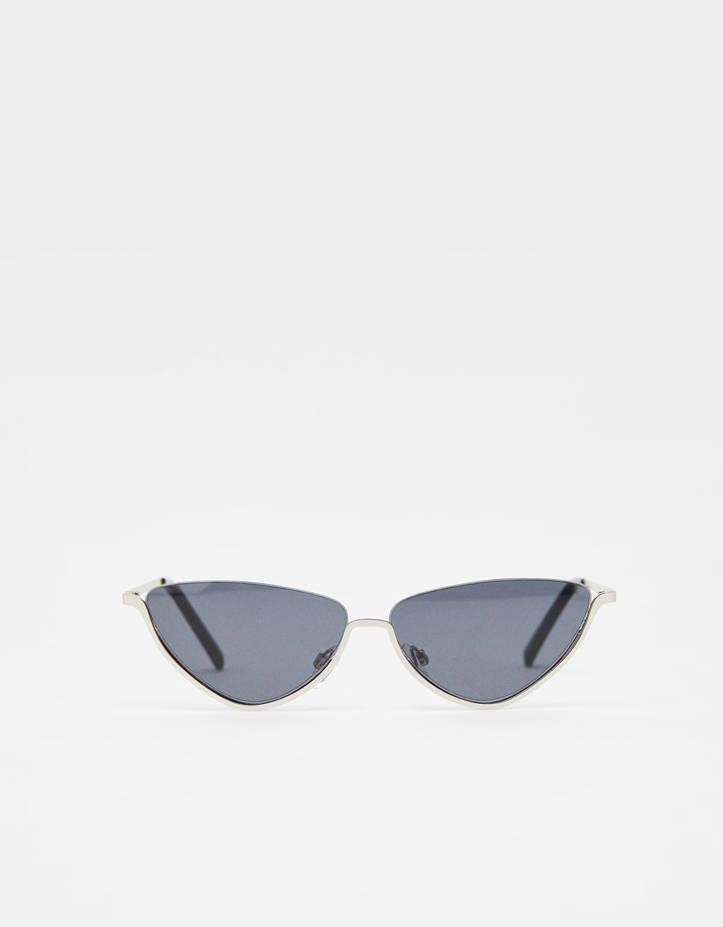 Half-frame Cat Eye sunglasses