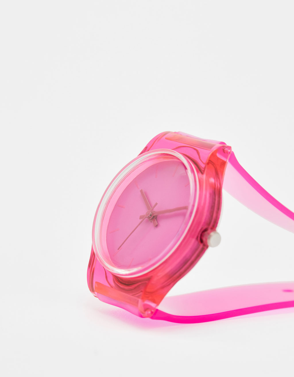 Neon analogue watch