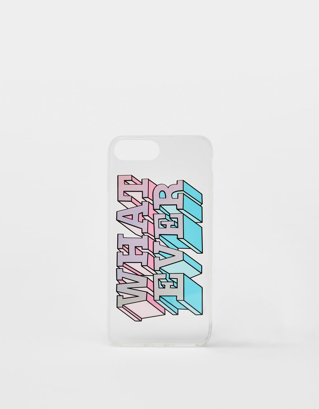 Hoesje What ever voor iPhone 6 plus / 7 plus / 8 plus