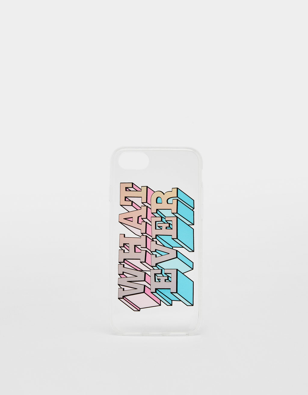 Hoesje What ever iPhone 6 / 6S / 7 / 8