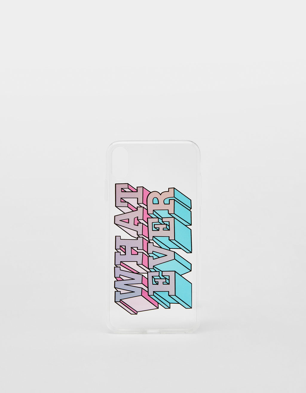 'Whatever' iPhone XS case