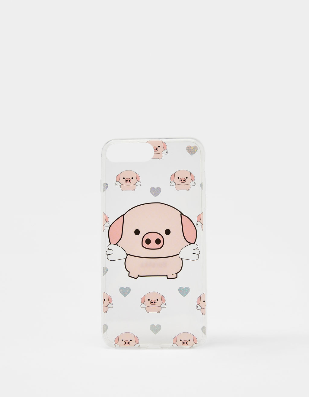 Hoesje Little Pig voor iPhone 6 plus /7 plus /8 plus