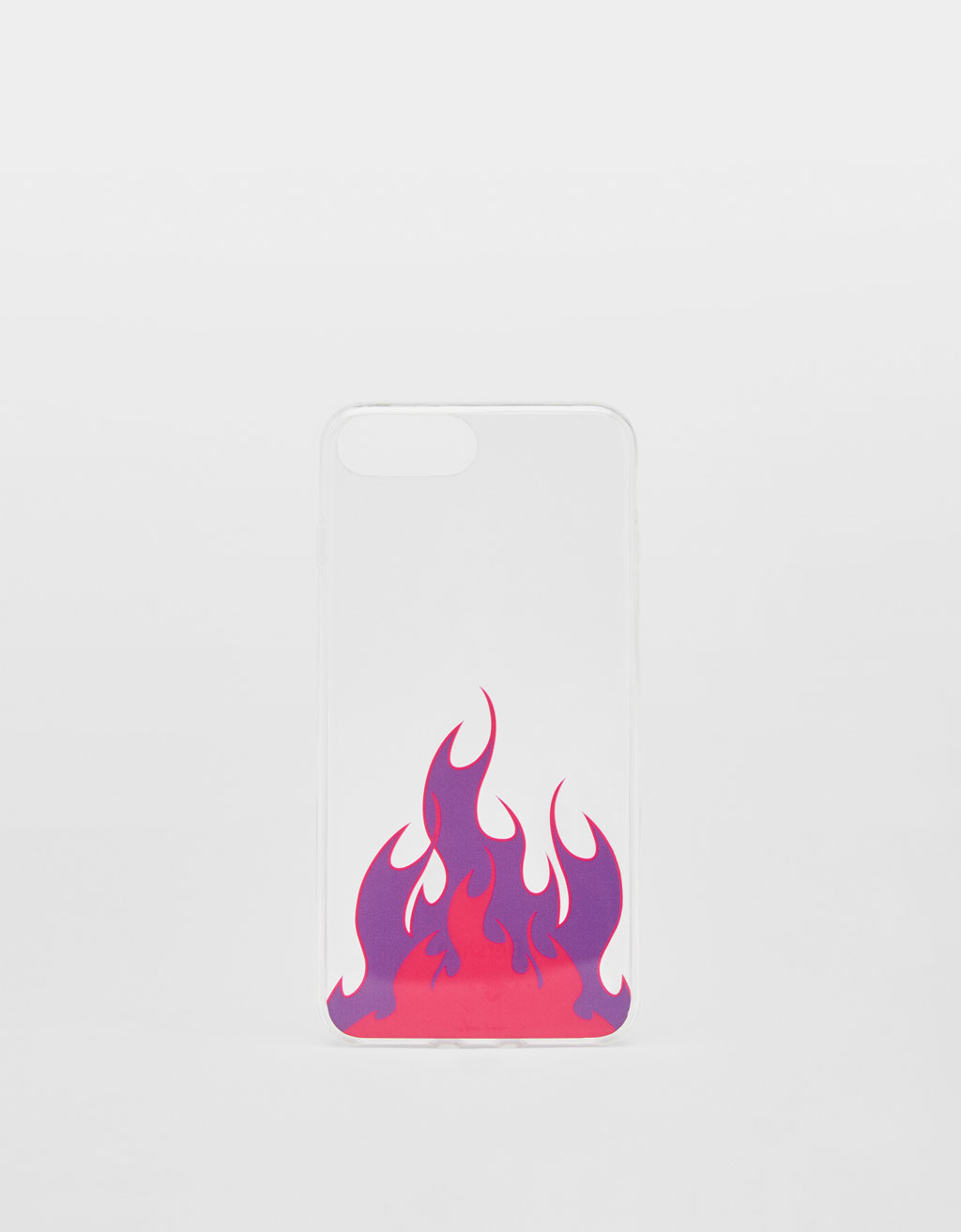 Cover con fiamme iPhone 6 plus/7 plus/8 plus