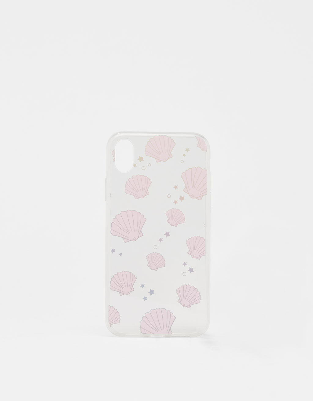 Seashell print iPhone XR case