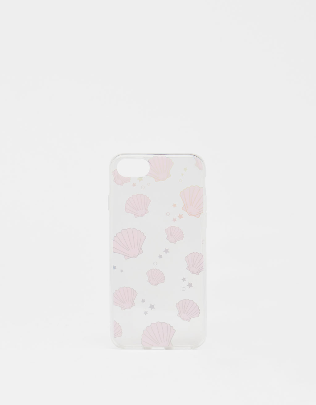 Seashell print iPhone 6 / 6S / 7 / 8 case