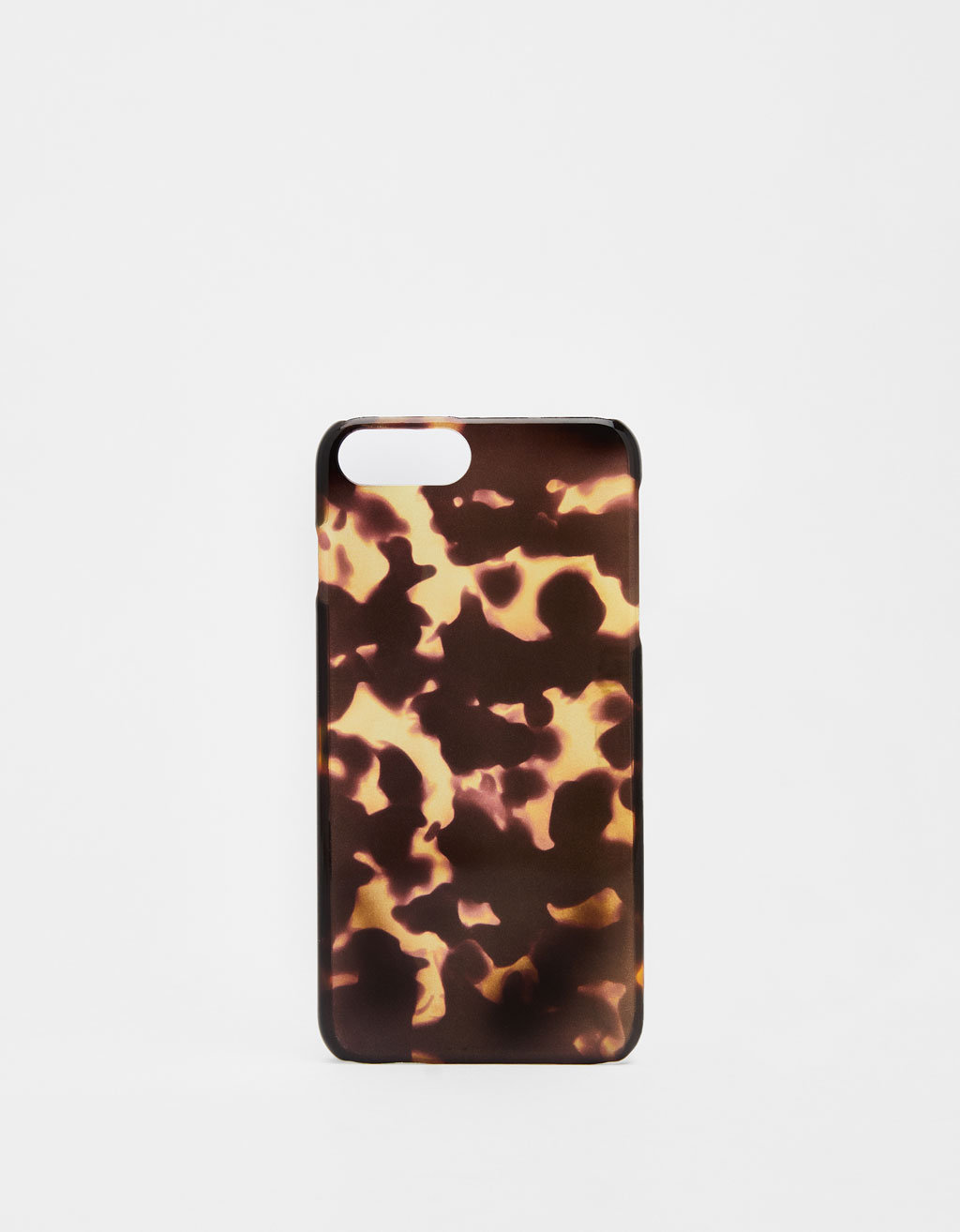 Tortoiseshell-effect iPhone 6 Plus/7 Plus/8 Plus case