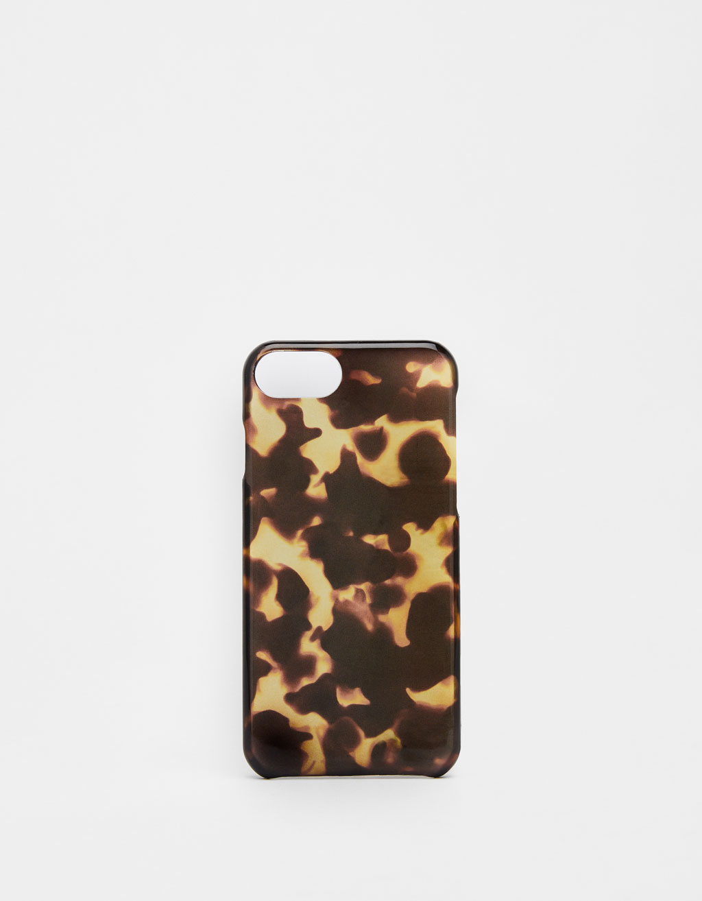 Carcasa carcasa efecto carey iPhone 6 / 6S / 7 / 8