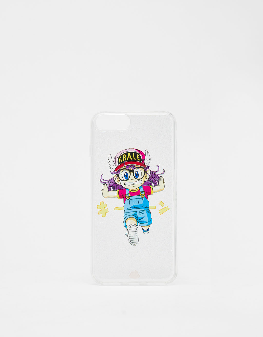 Transparent Arale iPhone 6 Plus/7 Plus/8 Plus case