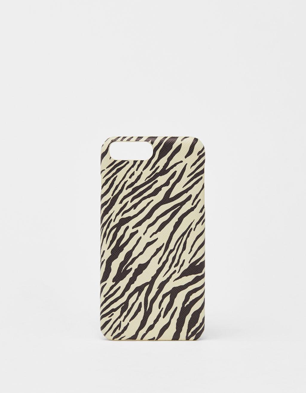 coque iphone 8 zebre