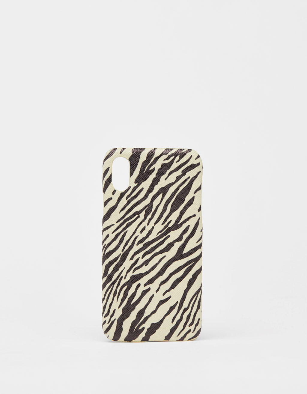 Cover med zebrastriber iPhone X / XS