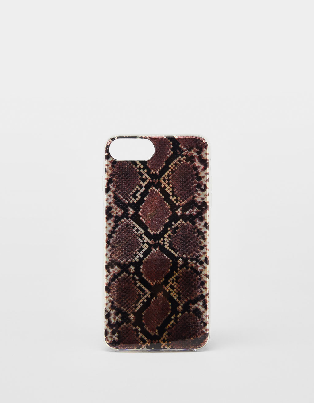 Snakeskin Print I Phone 6 Plus/7 Plus/8 Plus Case by Bershka