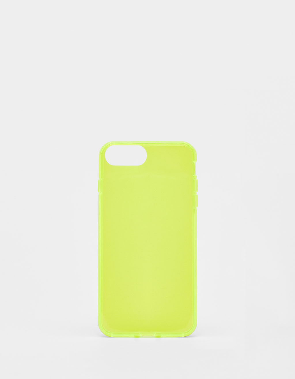 Carcasa transparente fluor iPhone 6 plus / 7 plus / 8 plus